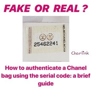 A simple guide to authenticate CHANEL bag codes